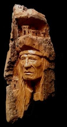 Wood carvings colorado